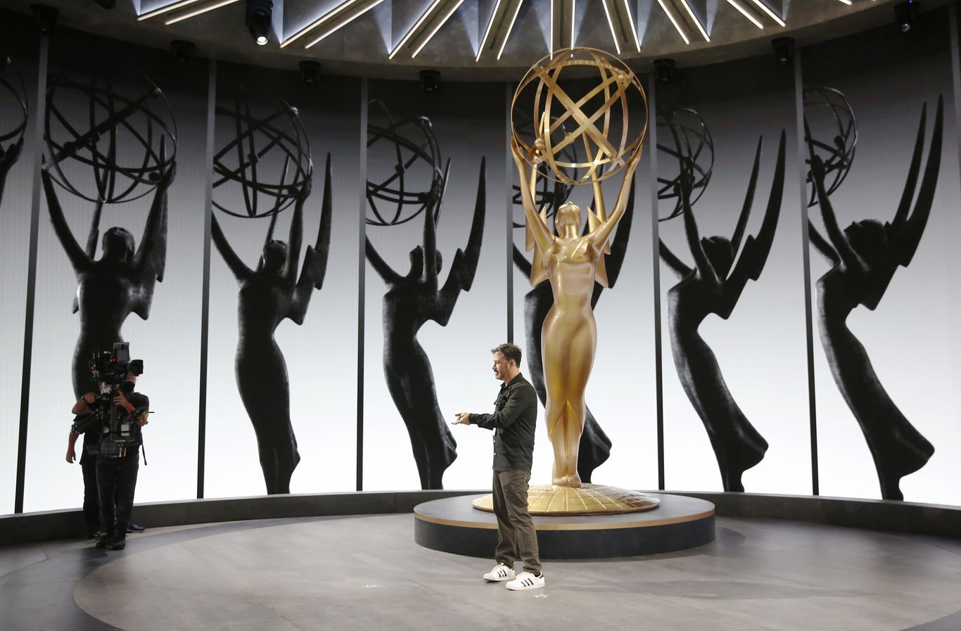 Virtual Emmys address chaotic year for American TV and society
