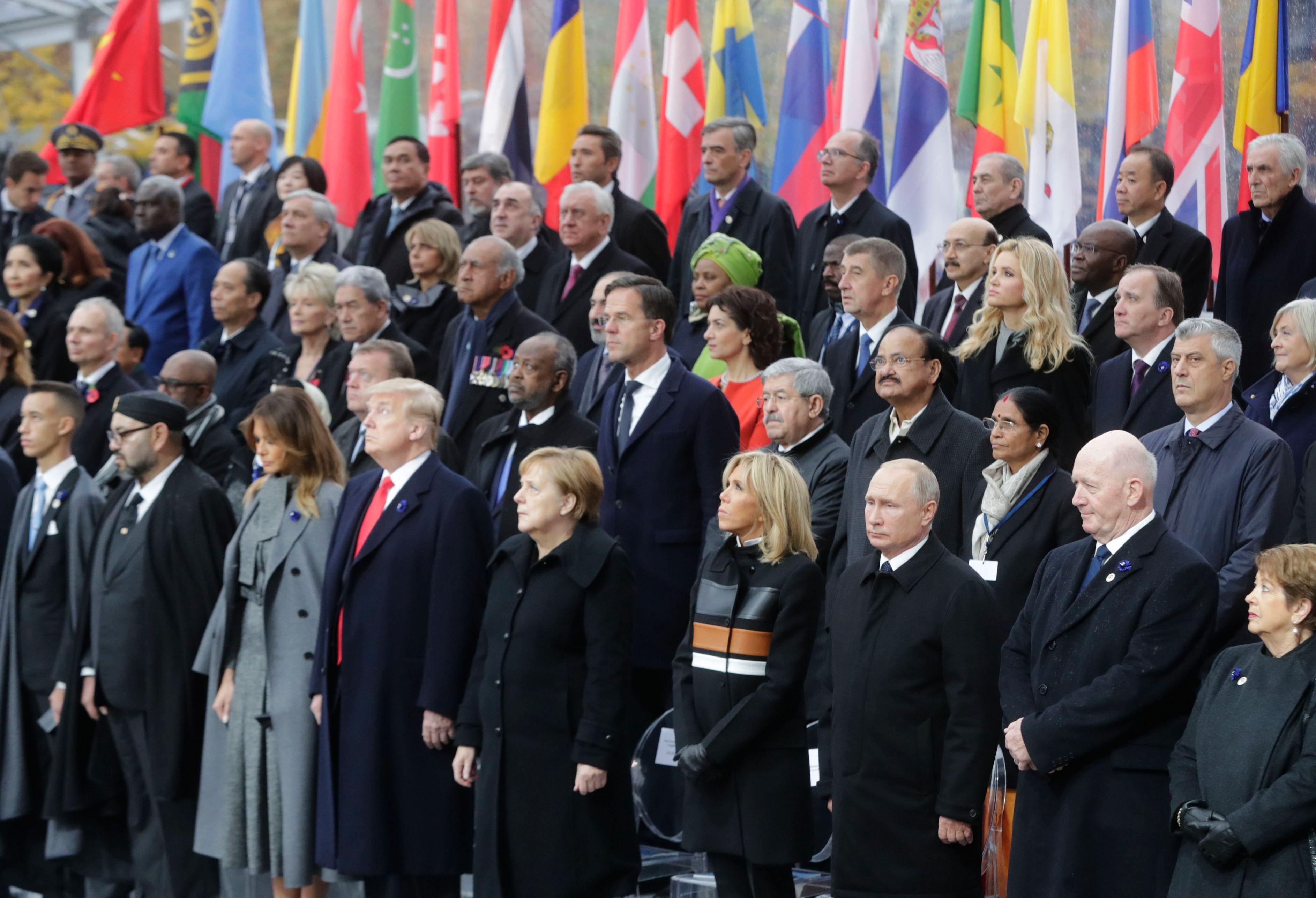 World leaders assemble