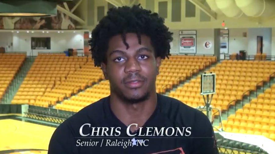 Screenshot of Chris Clemons