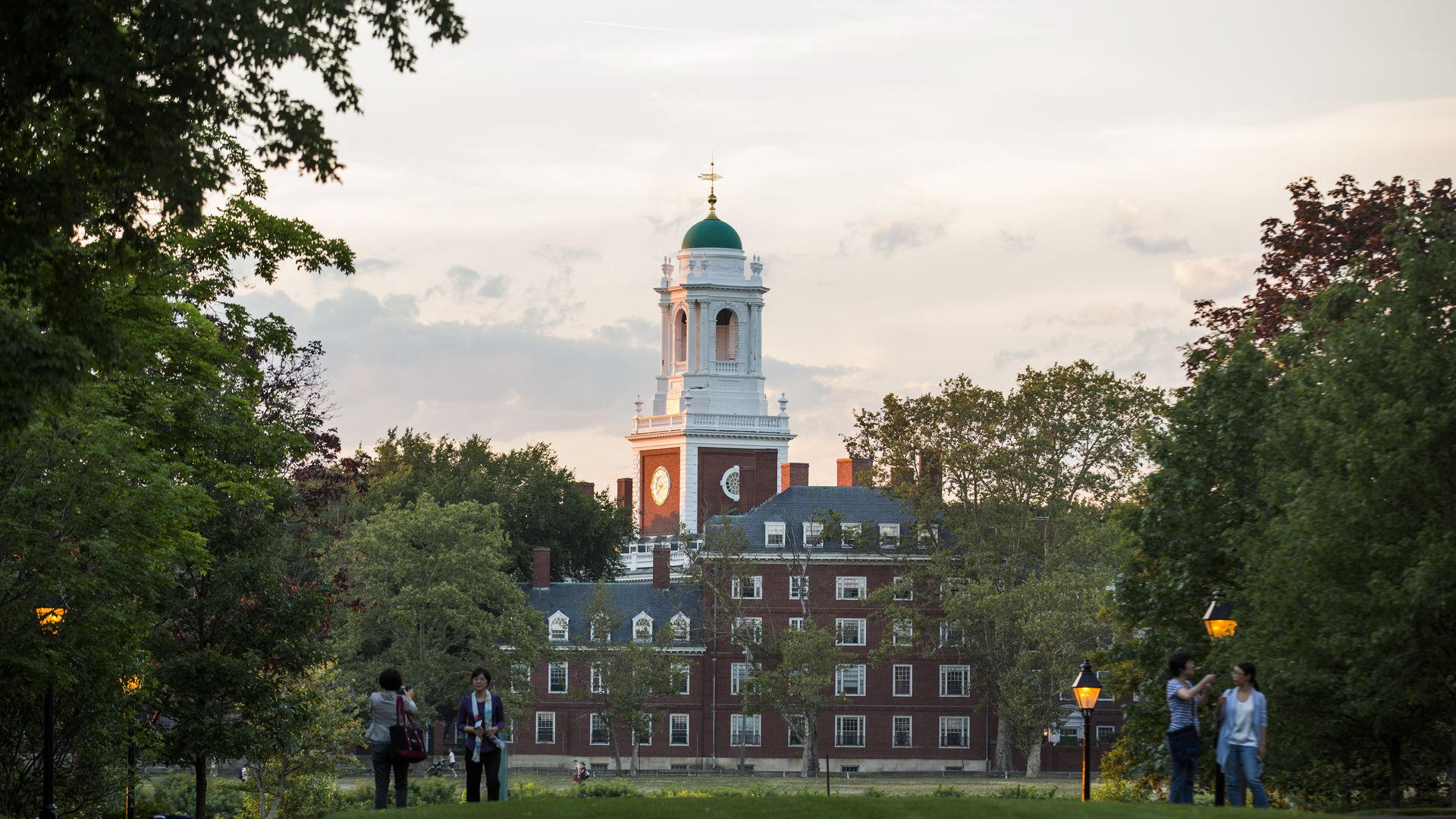 Harvard University's campus.