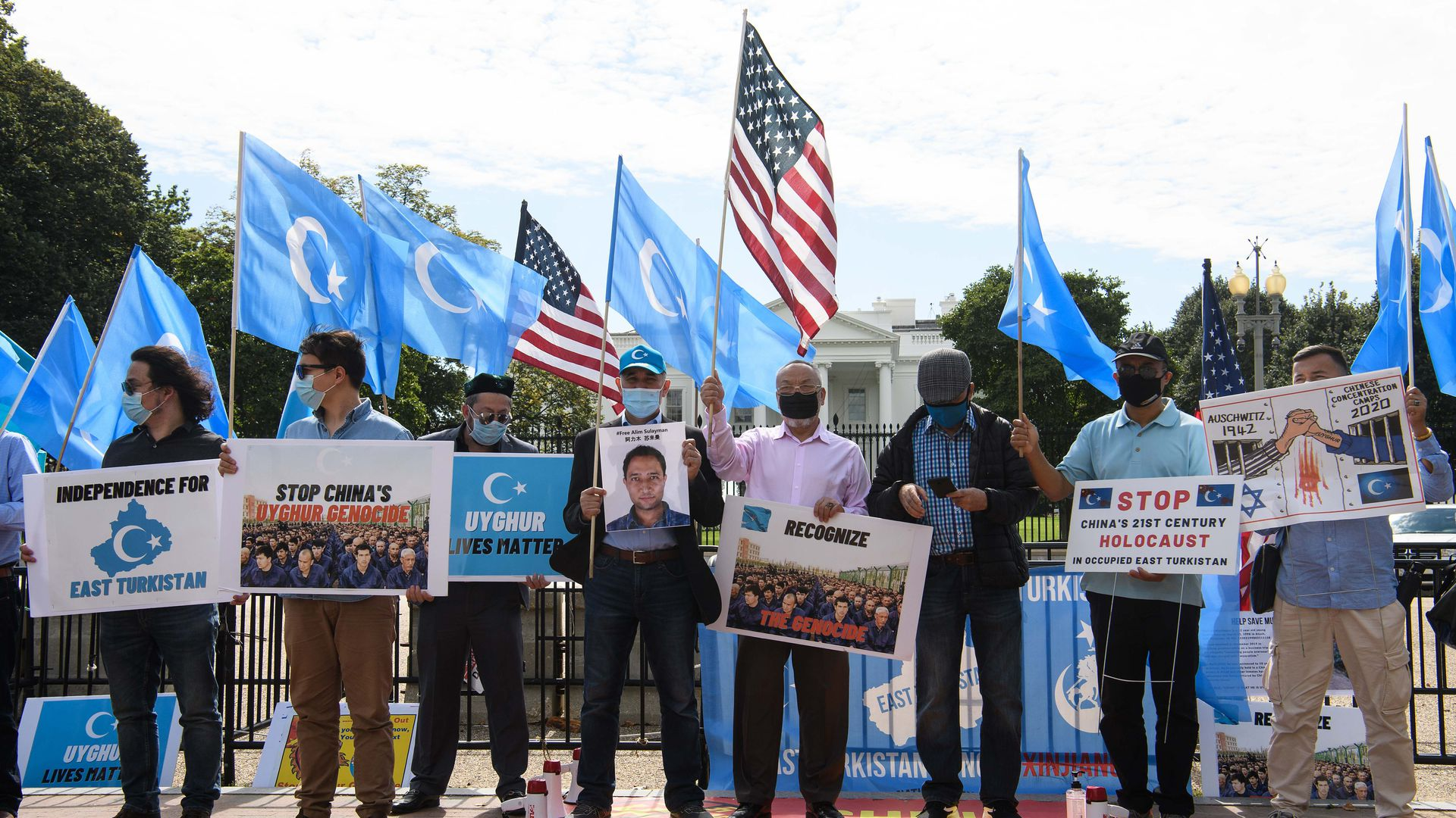 Lawmakers form bipartisan caucus to confront China on Uyghur treatment -  Axios