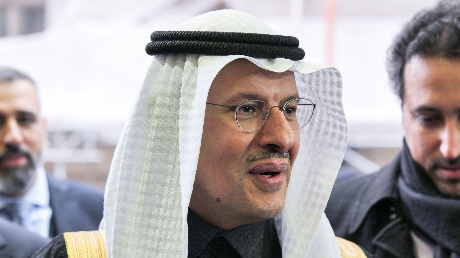 Saudi Minister of Energy Prince Abdulaziz bin Salman al-Saud