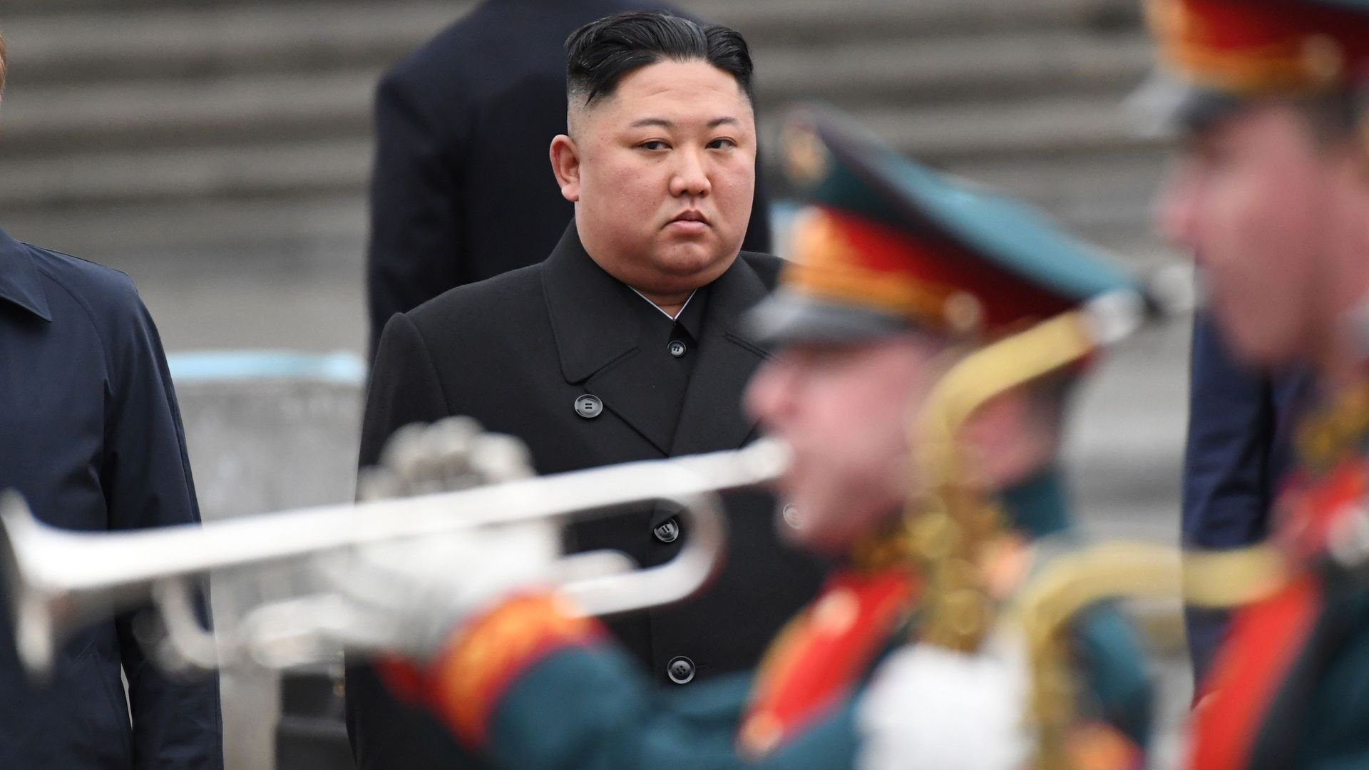 Kim Jong-un in Russia for summit with Vladimir Putin