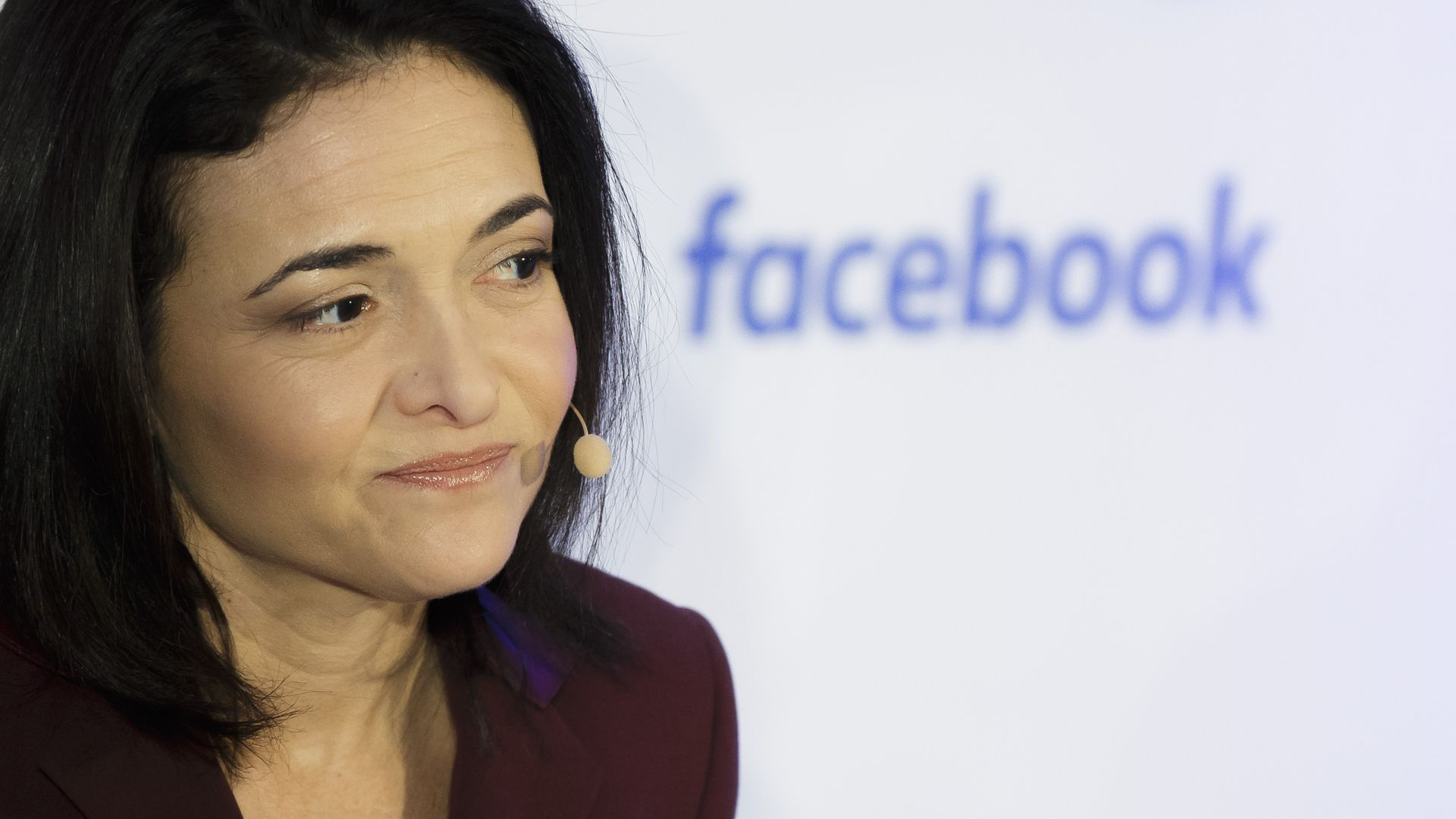 Chief Operating Officer at Facebook Sheryl Sandberg on January 18, 2016 in Berlin, Germany.