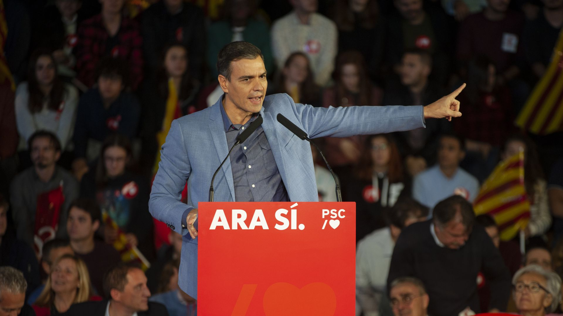 Spain's Socialists set to win election as far-right doubles vote share