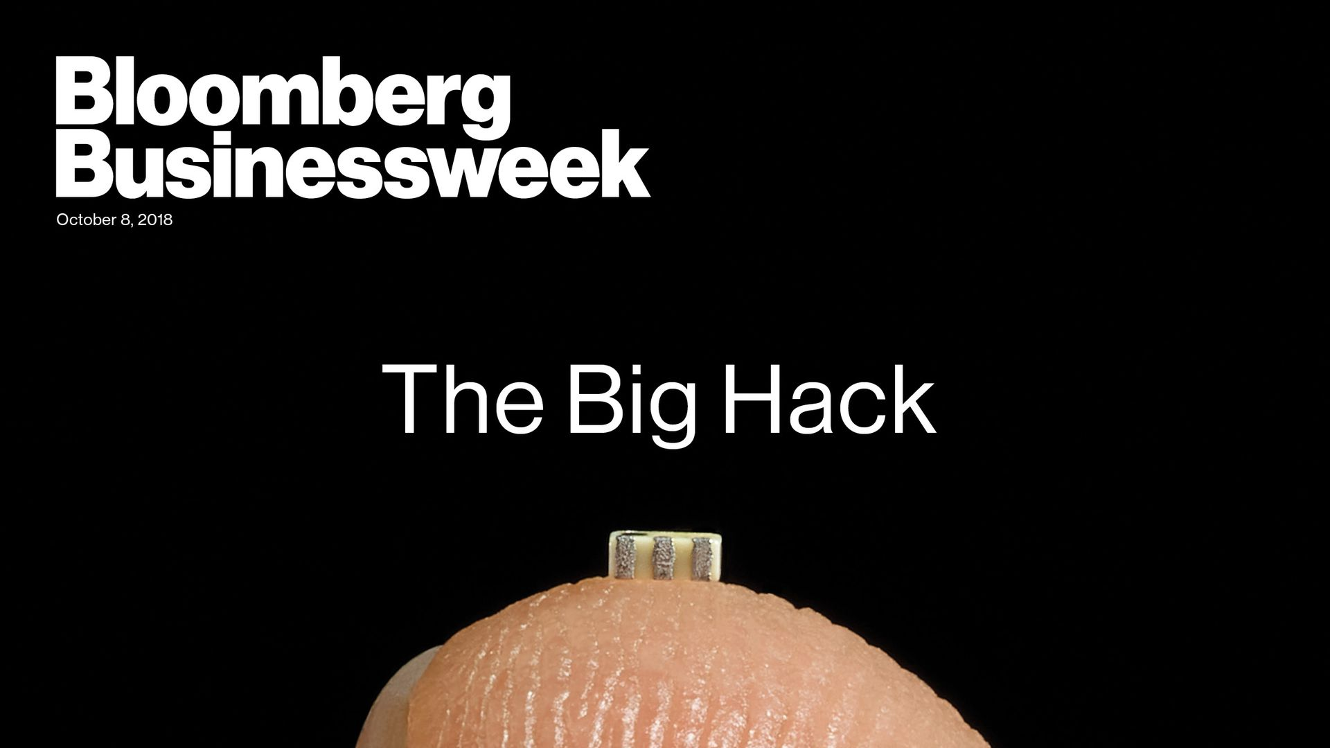 Bloomberg Businessweek cover story on a reported Chinese hacking of servers