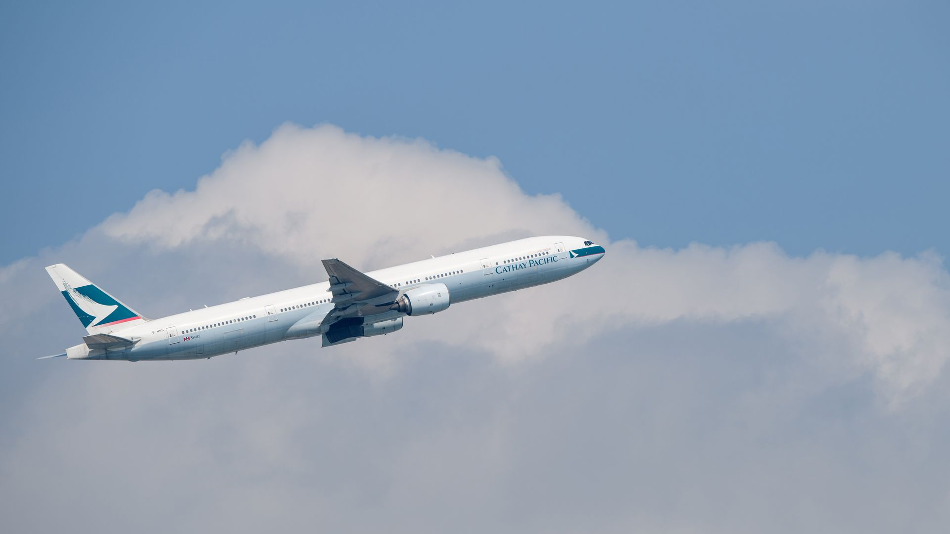 Cathay Pacific airliner