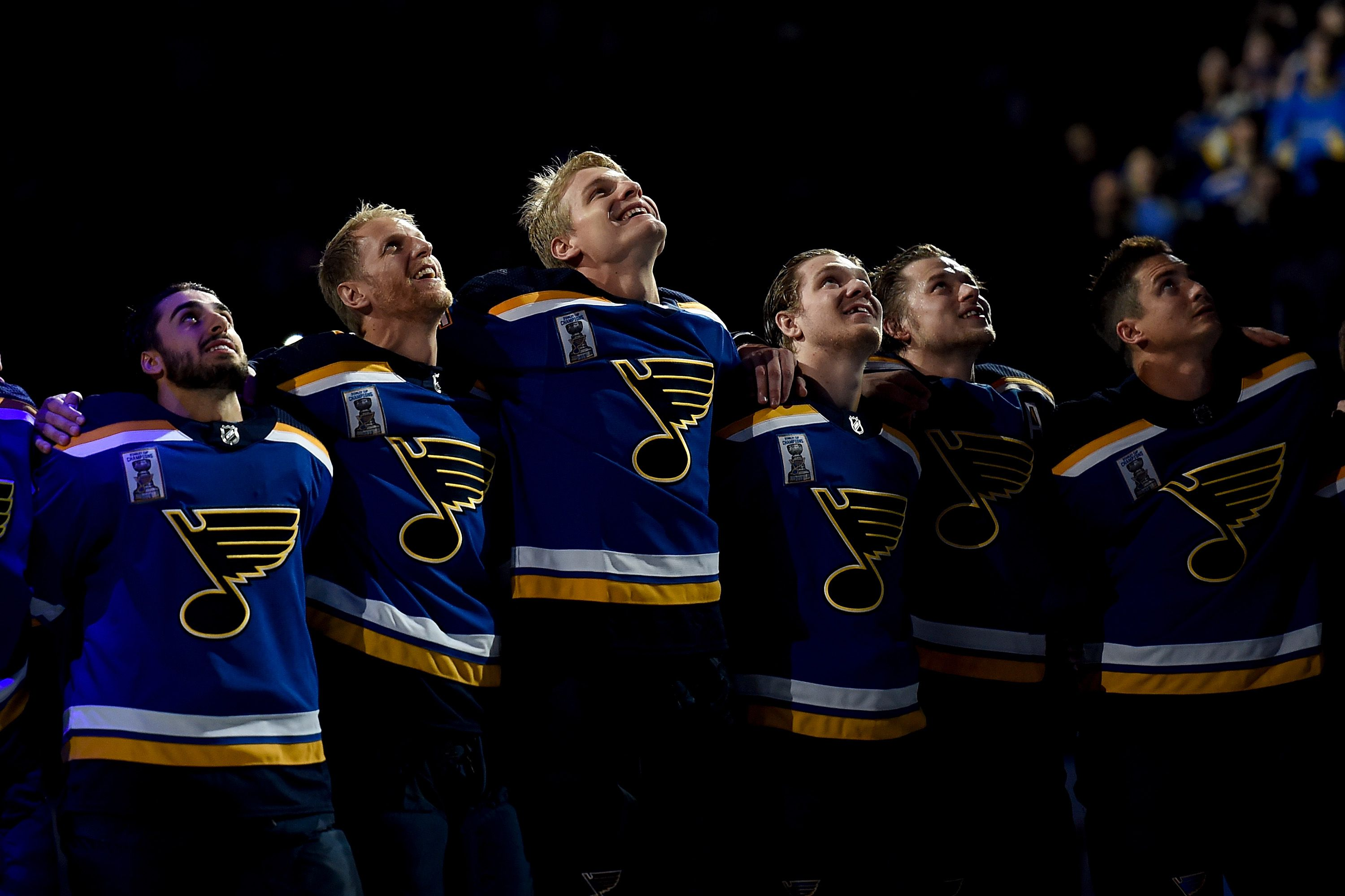 Blues players