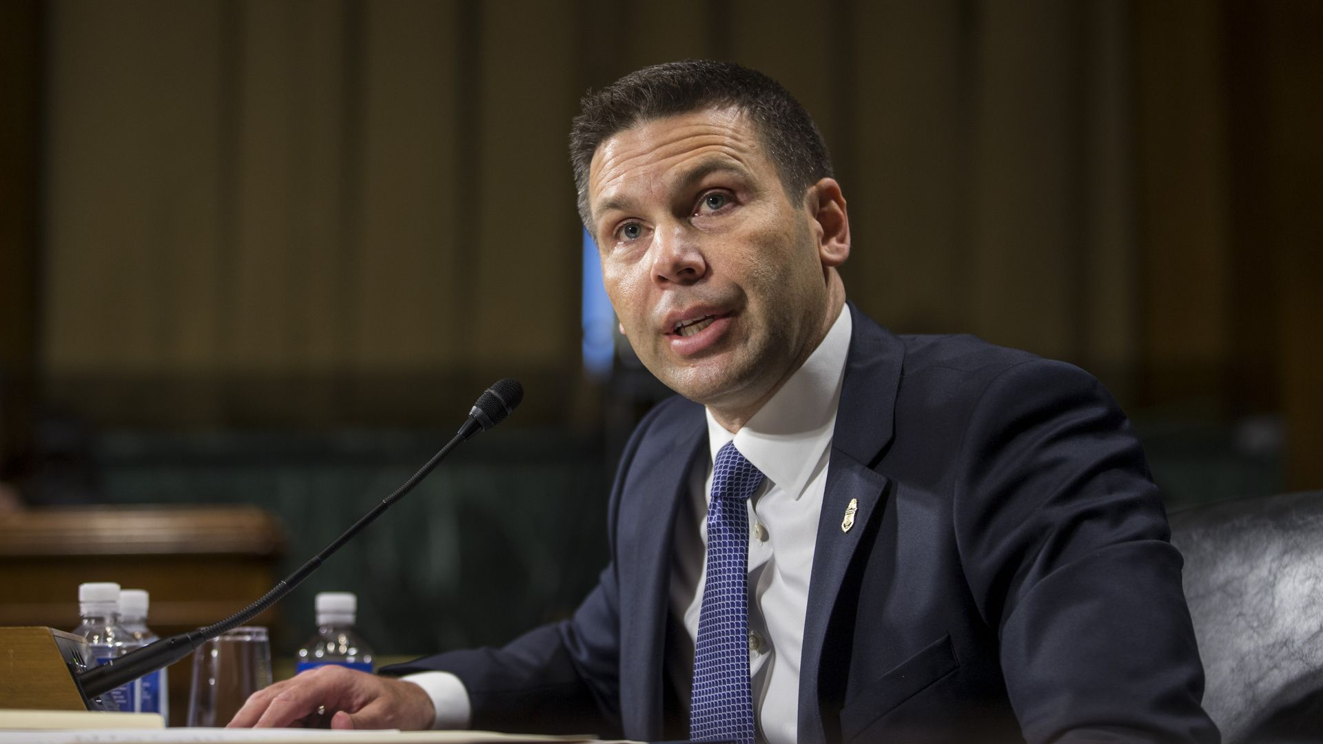 Kevin McAleenan, acting secretary for the Department of Homeland Security.