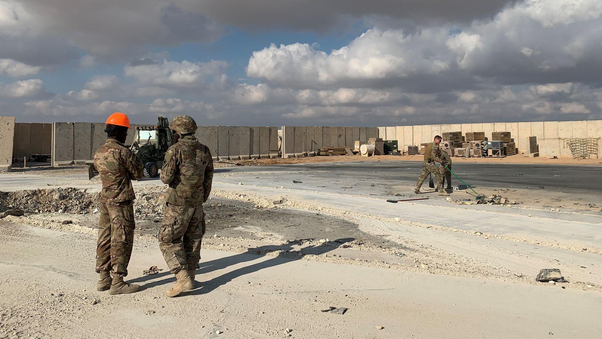 Ain al-Asad  U.S. military airbase in Iraq