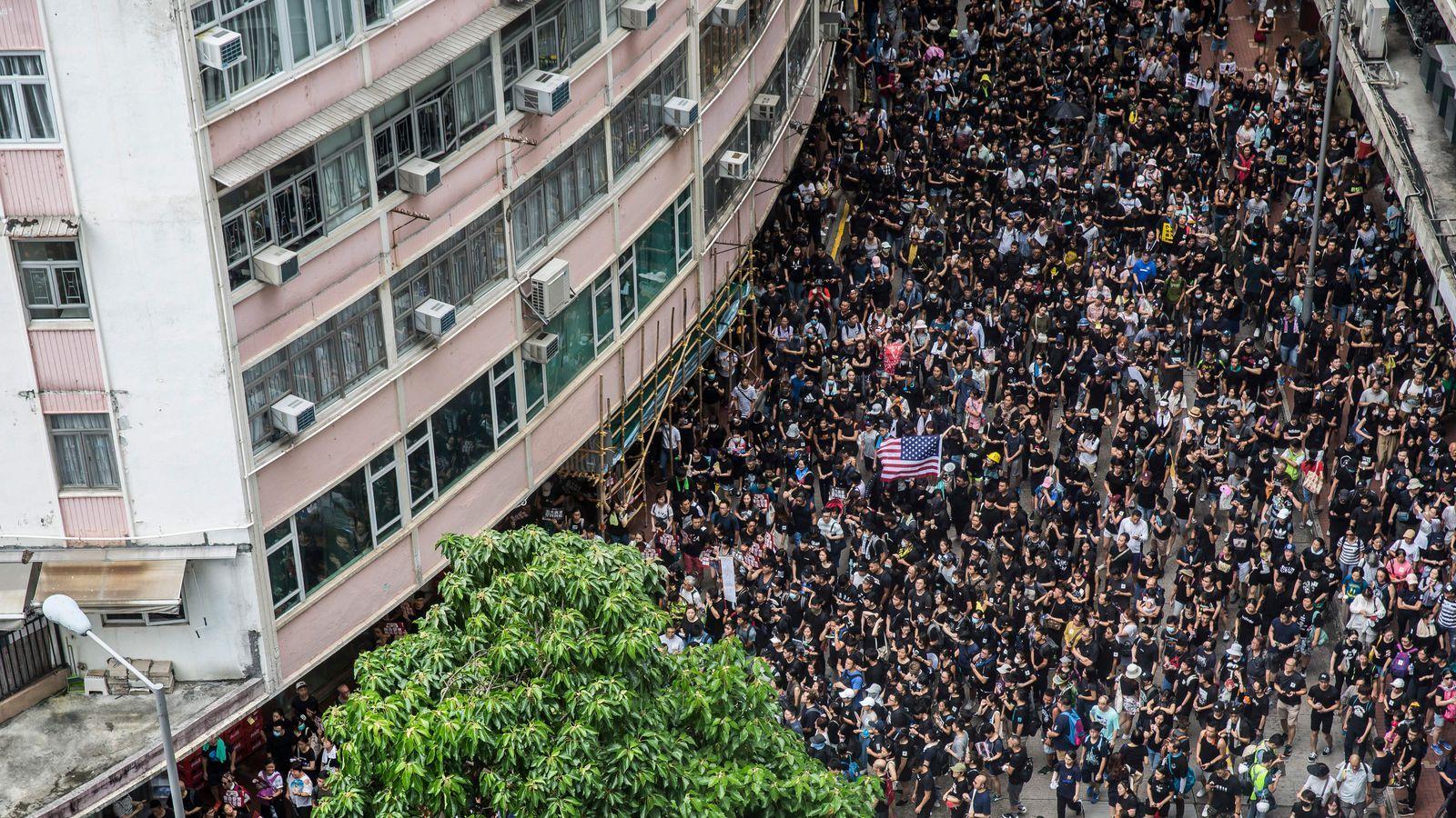 House passes bill expressing support for Hong Kong protestors, rebuking China