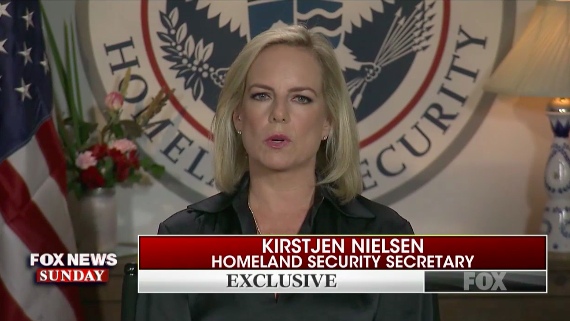 Kirstjen Nielsen on Fox
