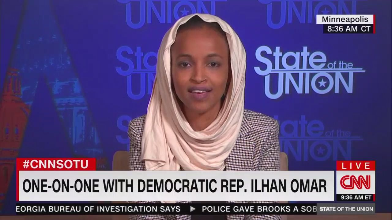 Ilhan Omar defends idea of dismantling Minneapolis Police Department thumbnail