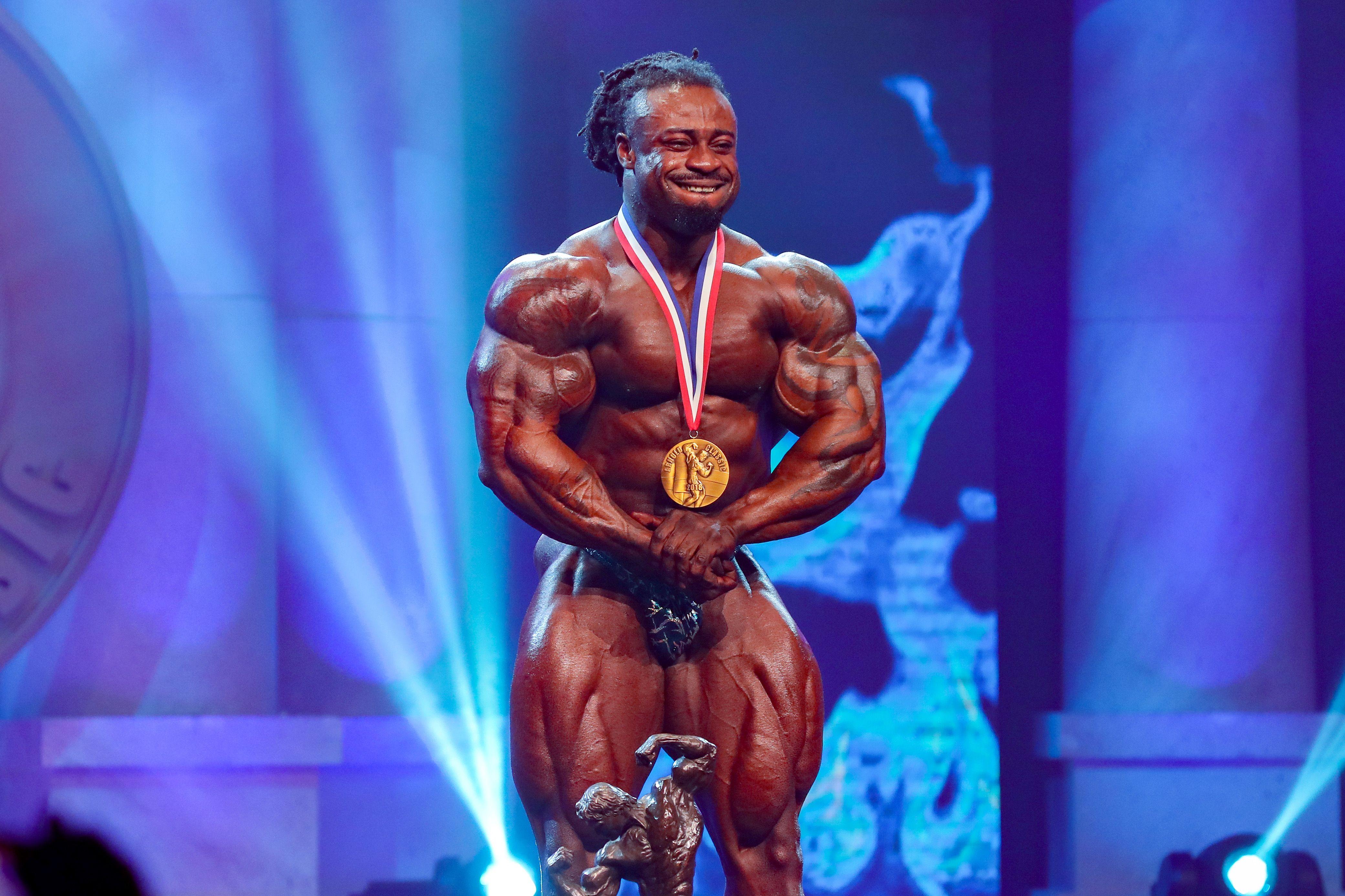 Bodybuilder William Bonac