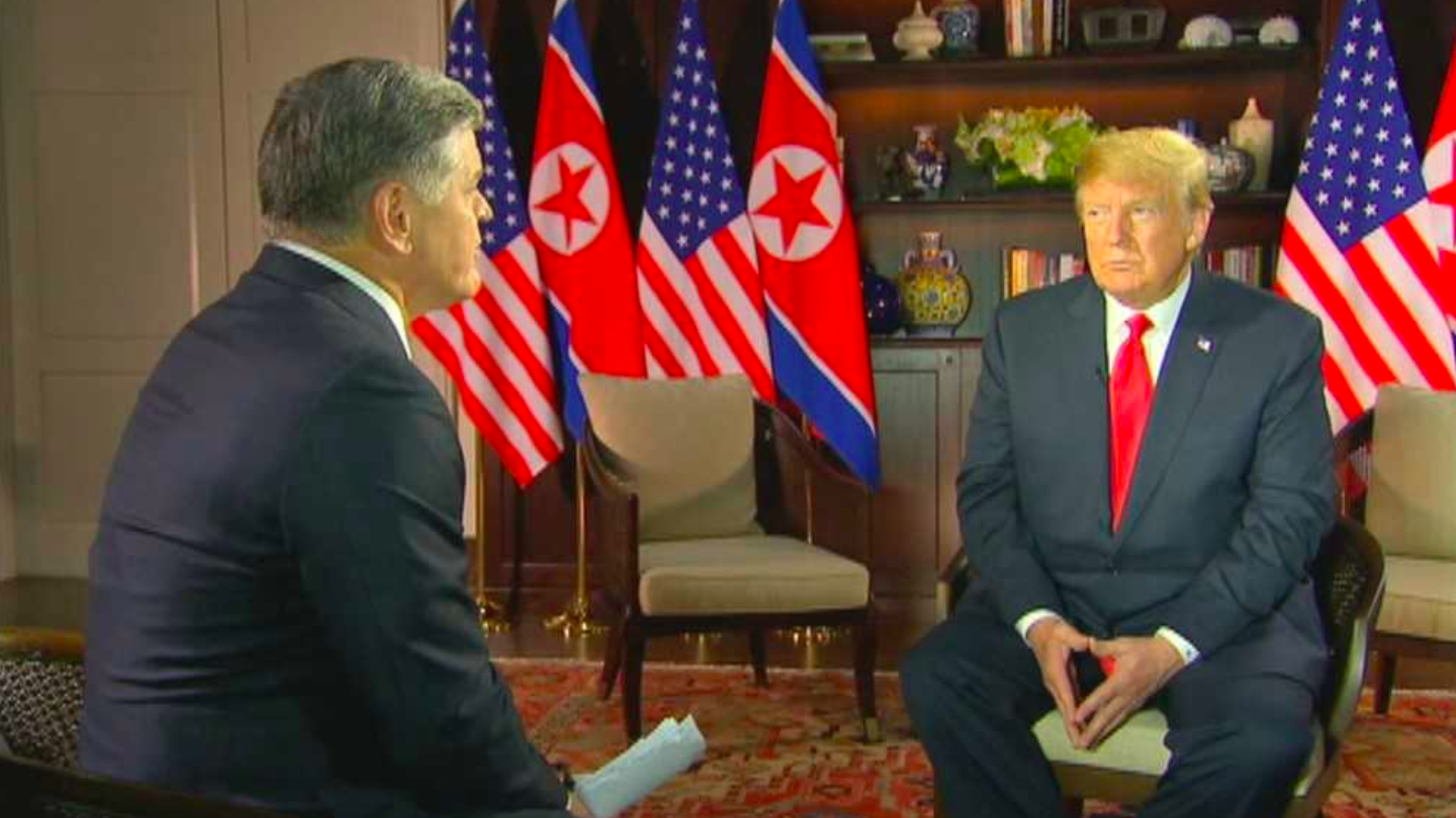Hannity interviews Trump