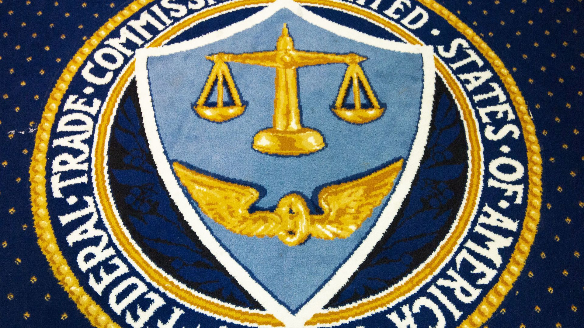 The seal of the Federal Trade Commission.