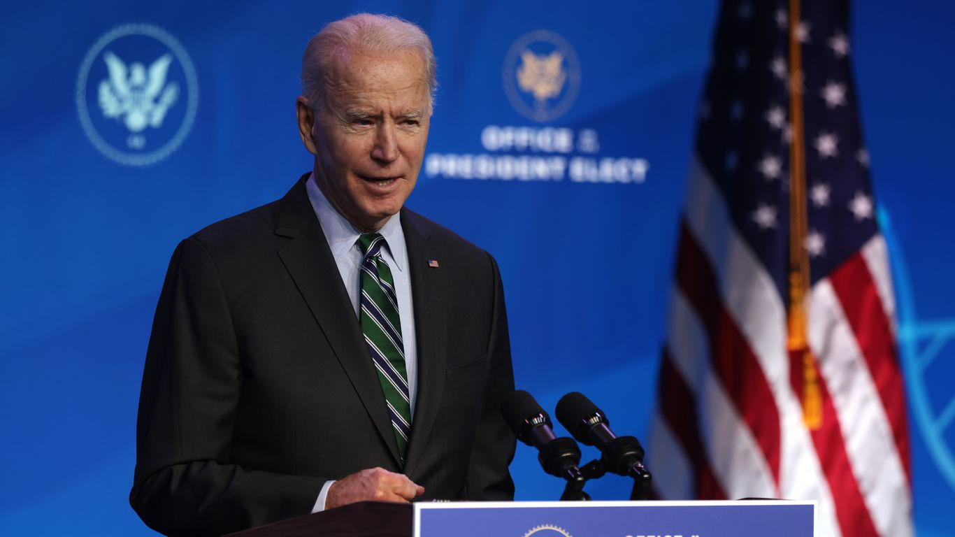 President Biden Says U.S. 'Can Overcome' COVID-19