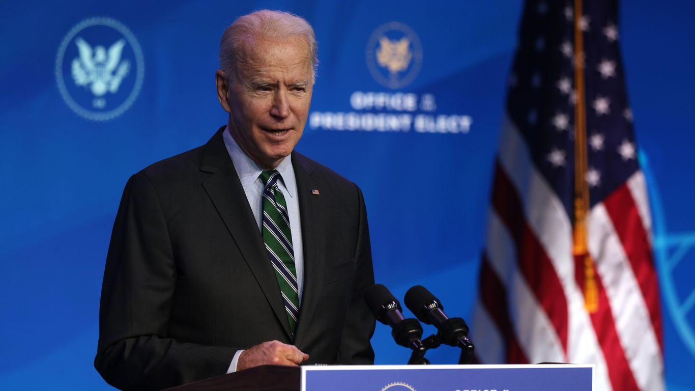 President Biden Says U.S. 'Can Overcome' COVID-19 - cover