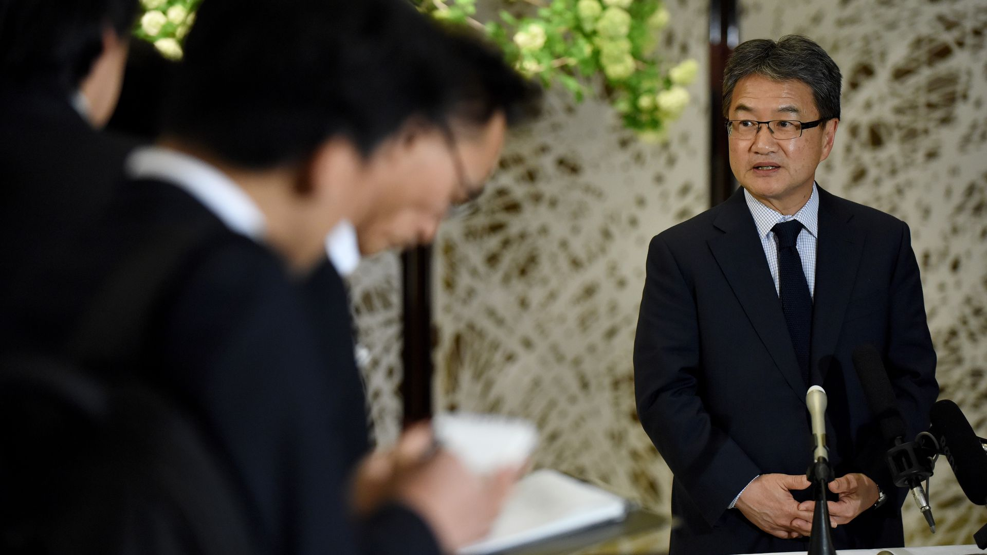 Joseph Yun, U.S. special representative for North Korea policy.