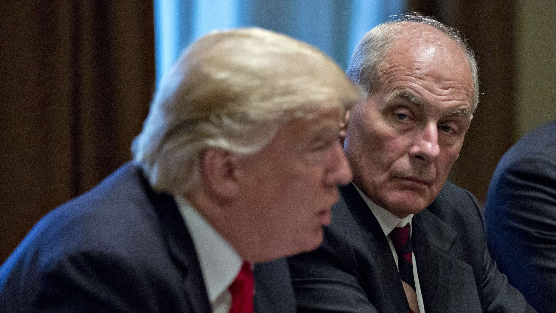 John Kelly and Trump