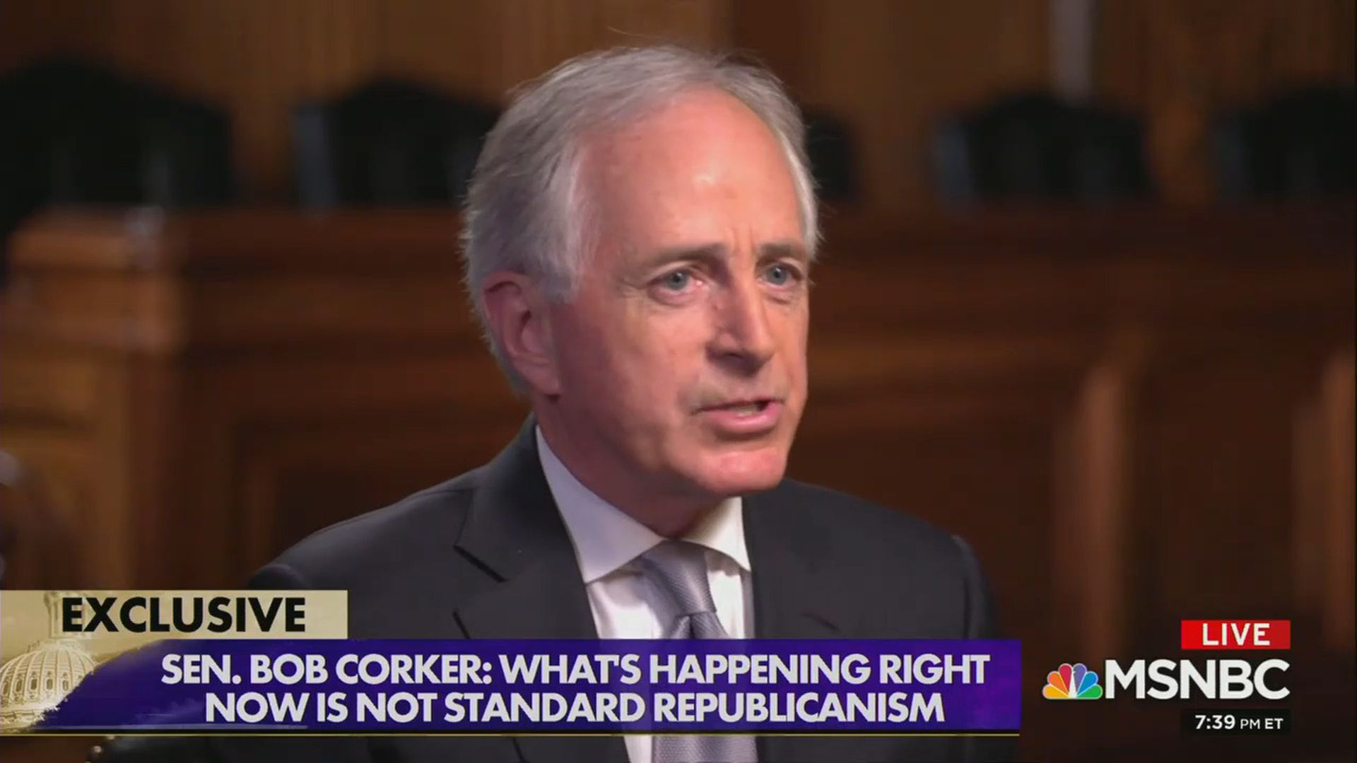 Bob Corker won't say whether or not Trump should be primaried in