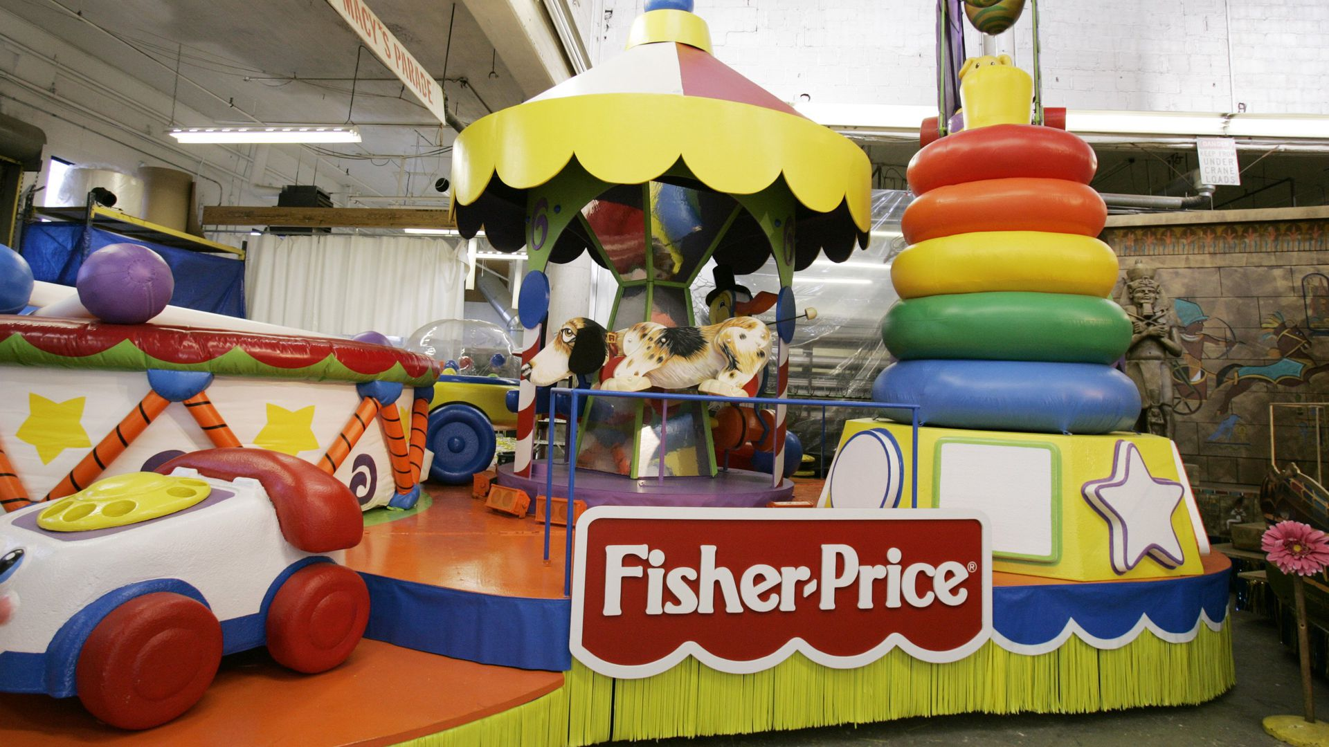 Fisher-Price Macy's Day float
