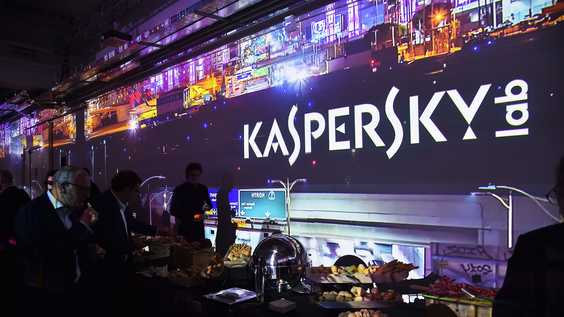 Kaspersky celebrates its 20th anniversary in Milan in late 2017. 	Jacopo Raule / Getty