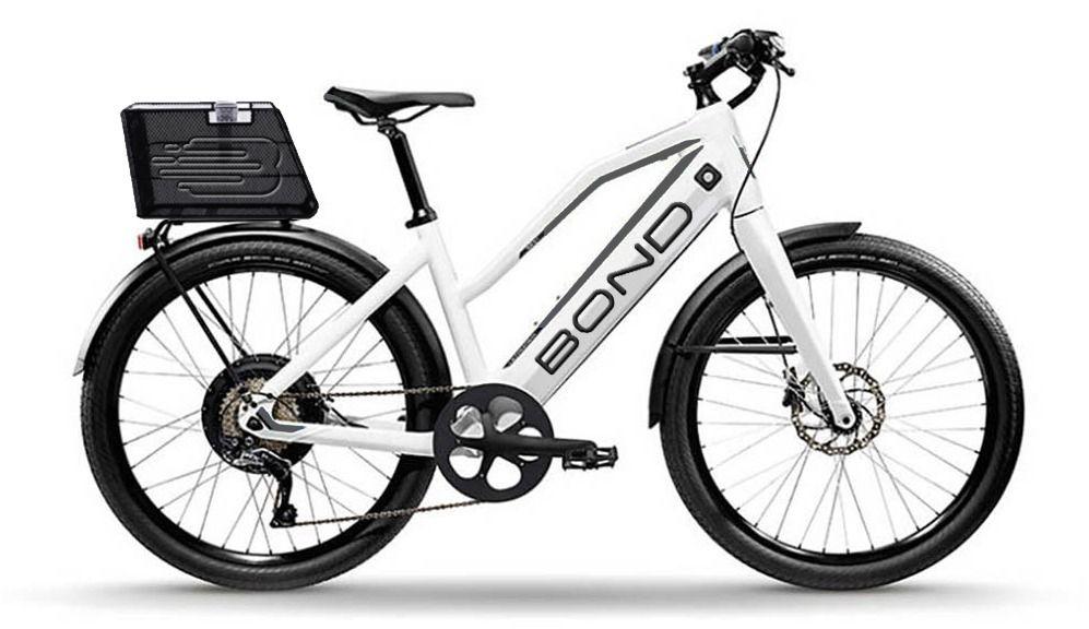 A rendering of a Bond speedy e-bike