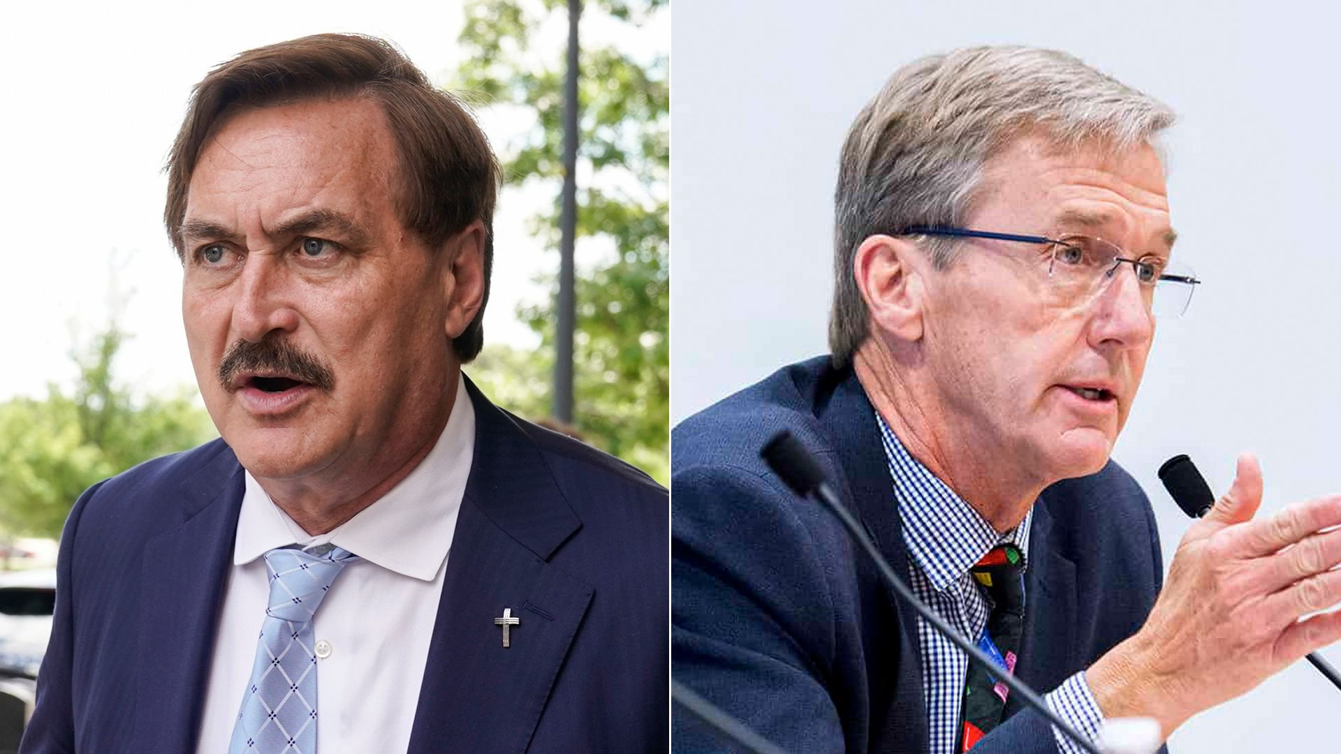 Scott Jensen and Mike Lindell
