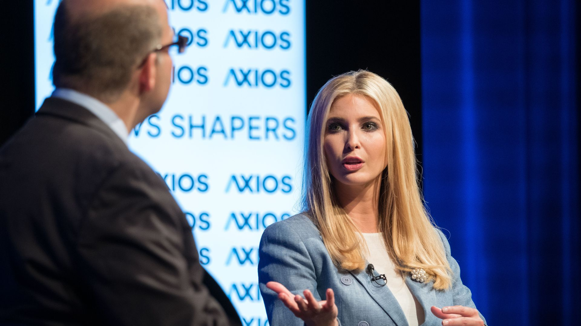 Ivanka Trump at Axios event