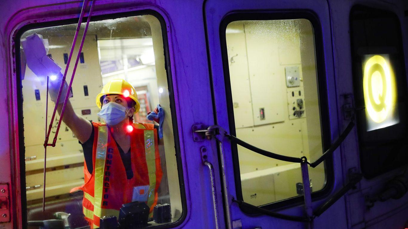Cleanest trains in memory emerge amid coronavirus pandemic thumbnail