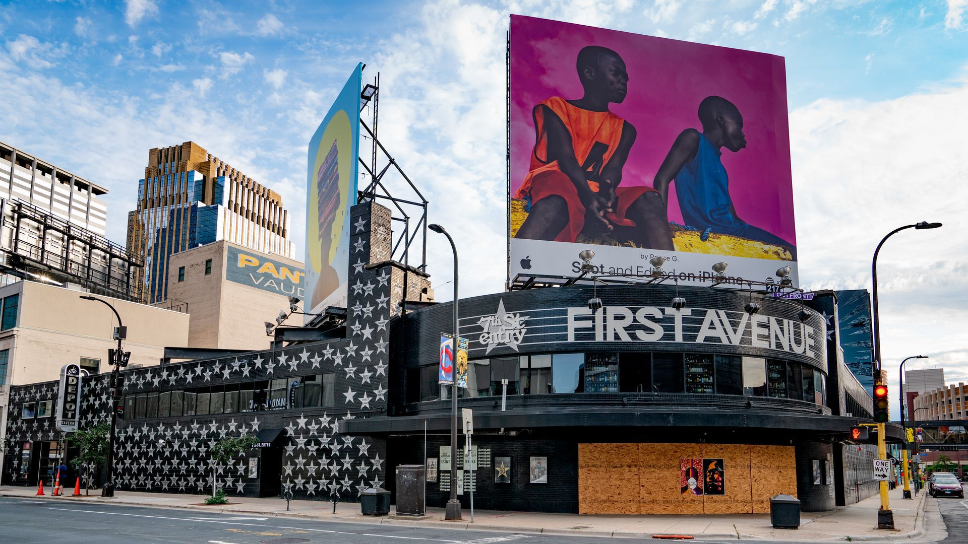 Picture of First Avenue in downtown Minneapolis