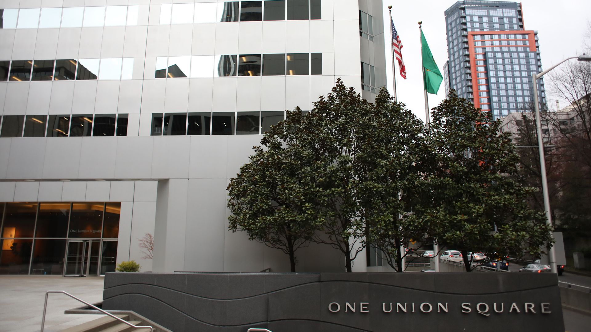 Office building in Seattle that houses Russian consulate
