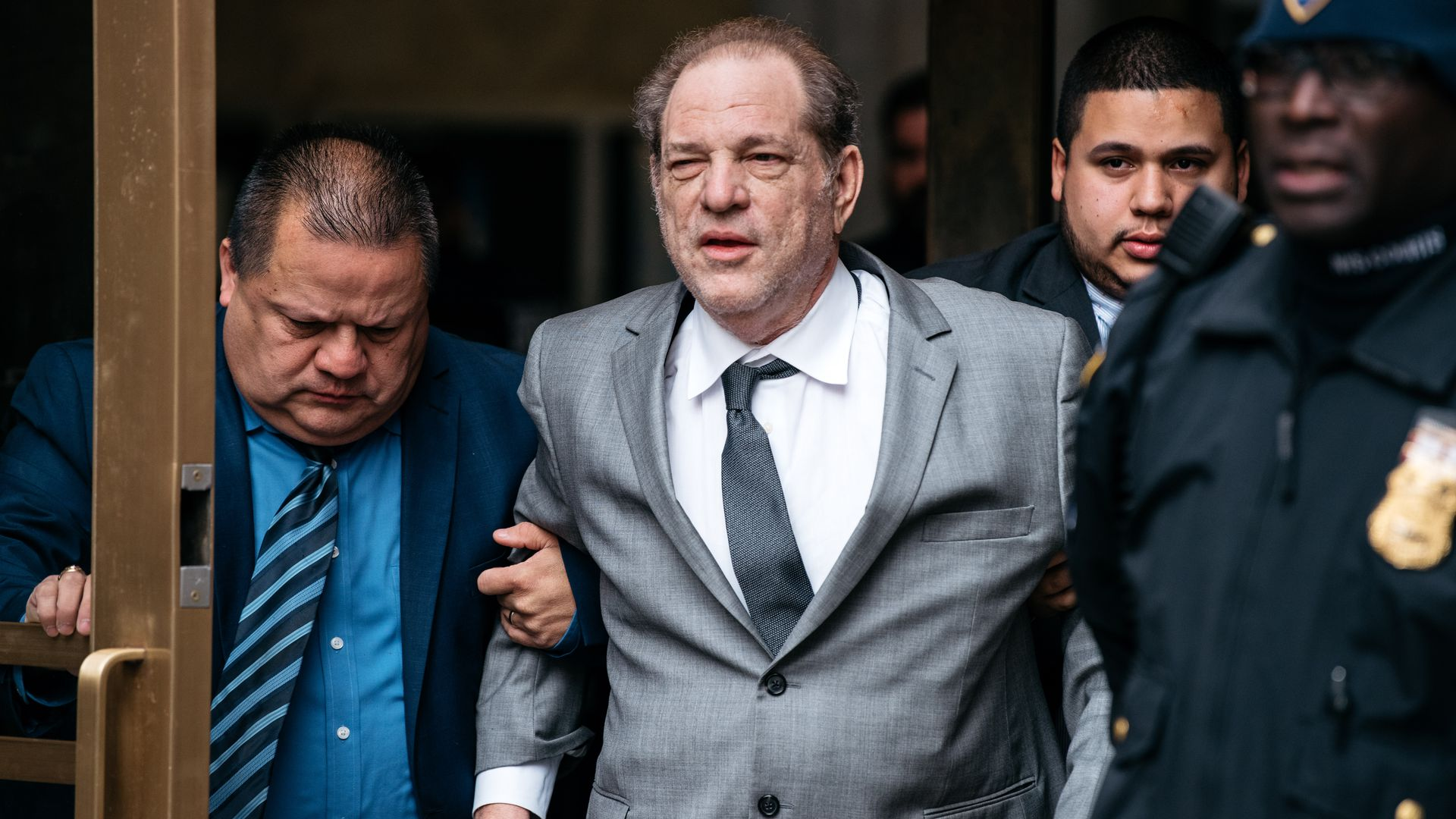Image result for most recent photos of Harvey Weinstein