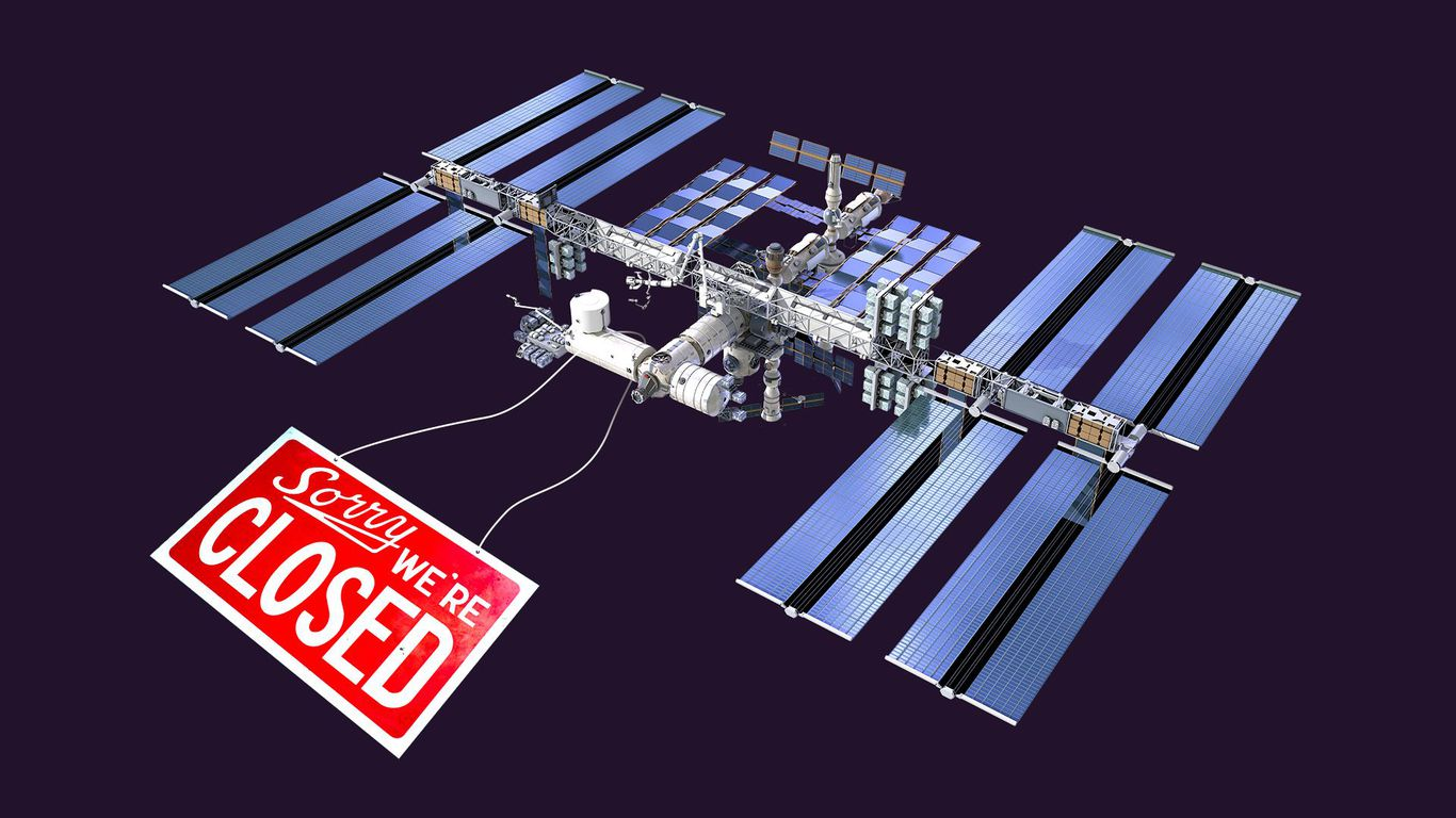 What comes next after the International Space Station ends - Axios