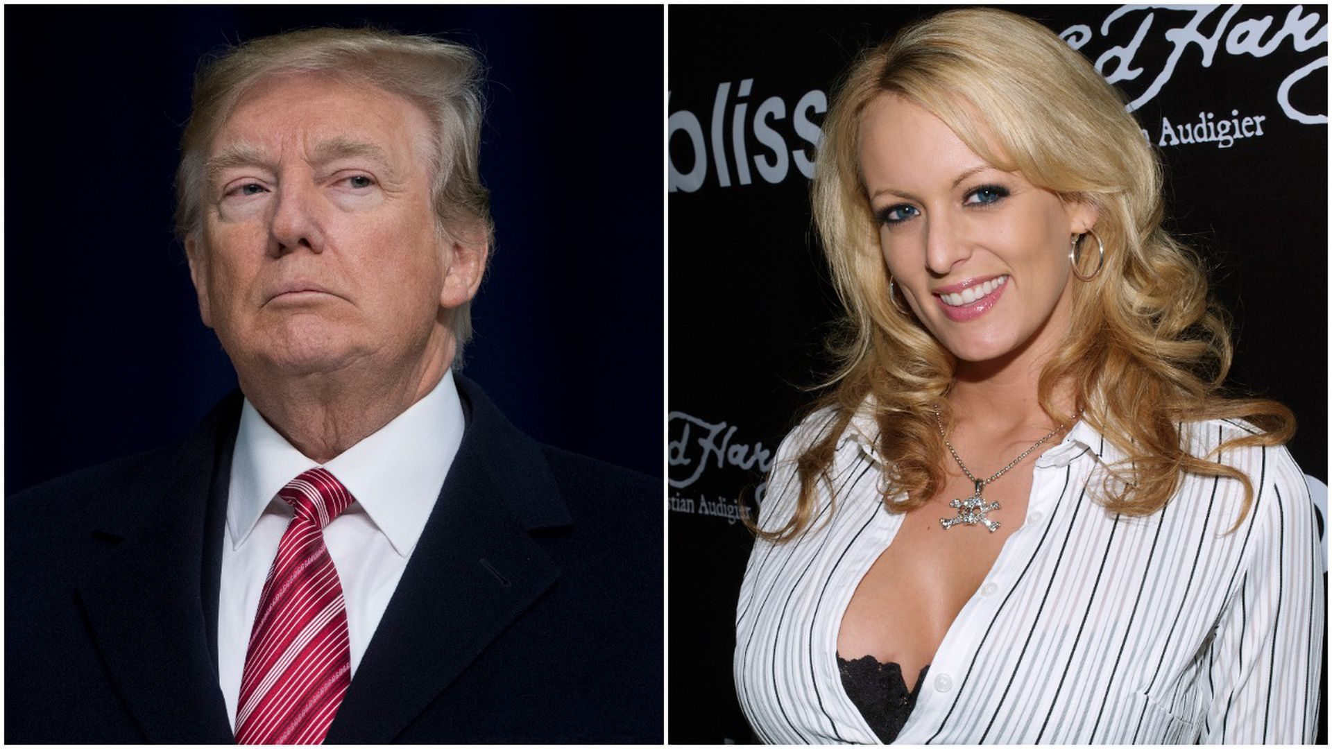 President Trump and Stormy Daniels