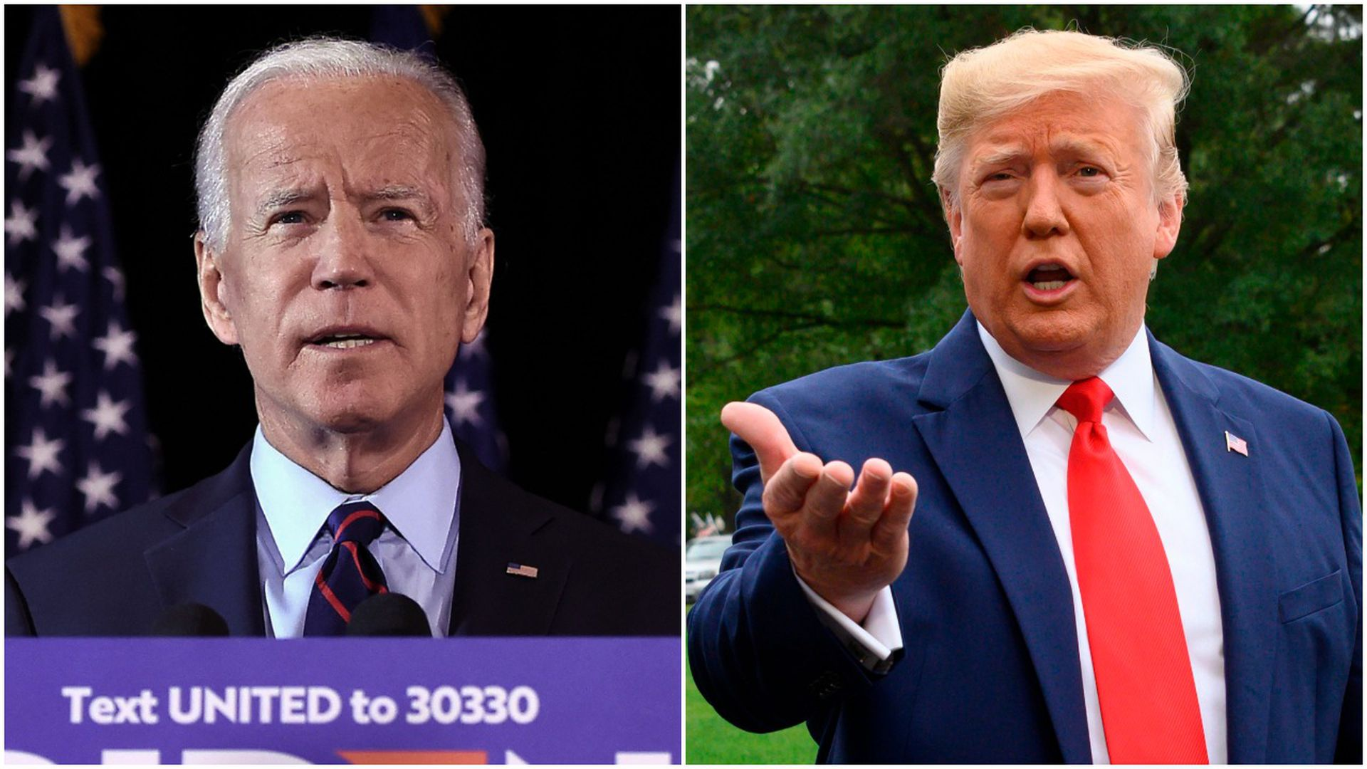 Poll: Biden leads Trump by 12 points in head-to-head matchup