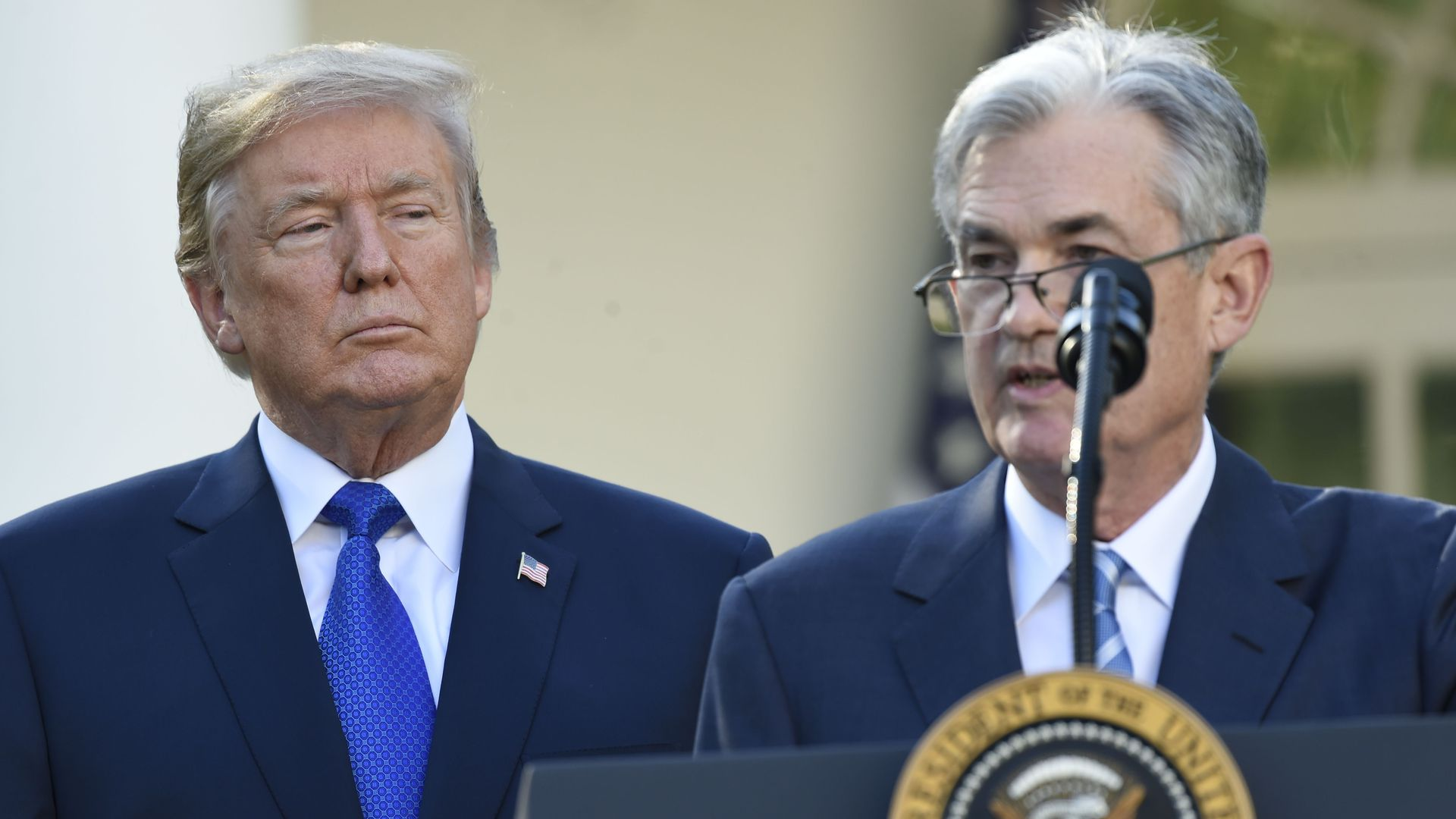 Feds Urged To Improve Transition >> Trump Says The Fed Should Cut Interest Rates Axios
