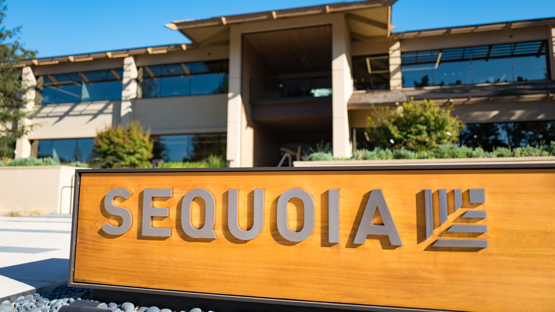 Sequoia Capital offices on Sand Hill Road in Menlo Park, California.