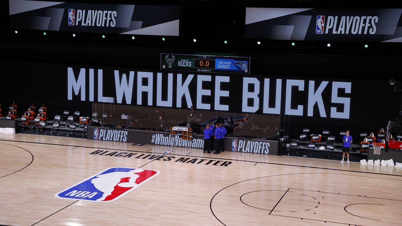 NBA postpones all of tonight's playoff games after Milwaukee boycott