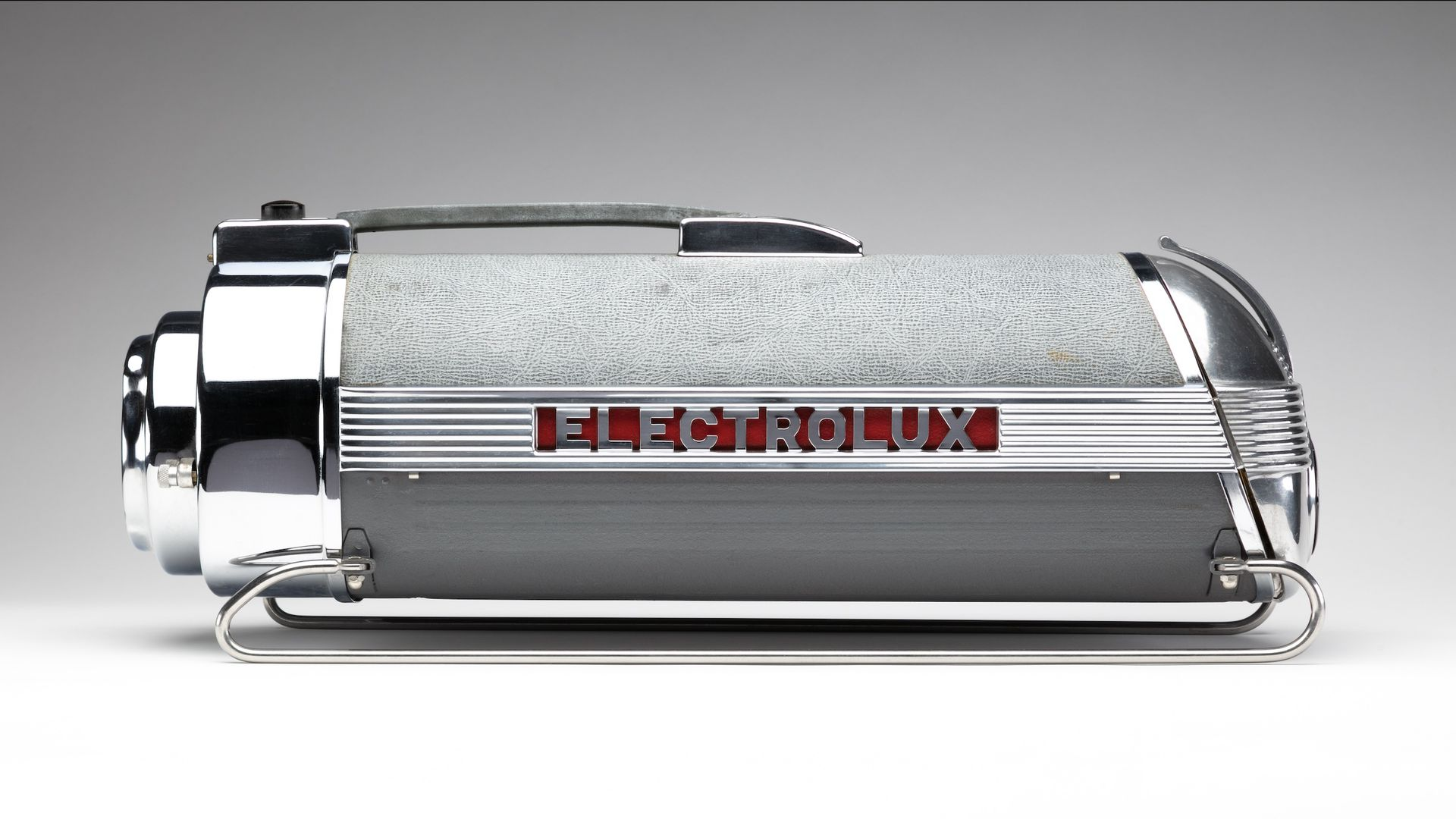 An art-deco era Electrolux vacuum, one of more than 140 pieces in the new Frist exhibit.