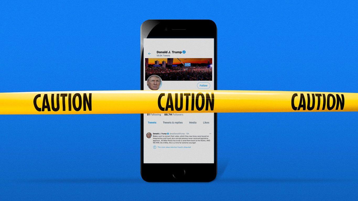 Social media platforms muzzle Trump after Capitol melee thumbnail