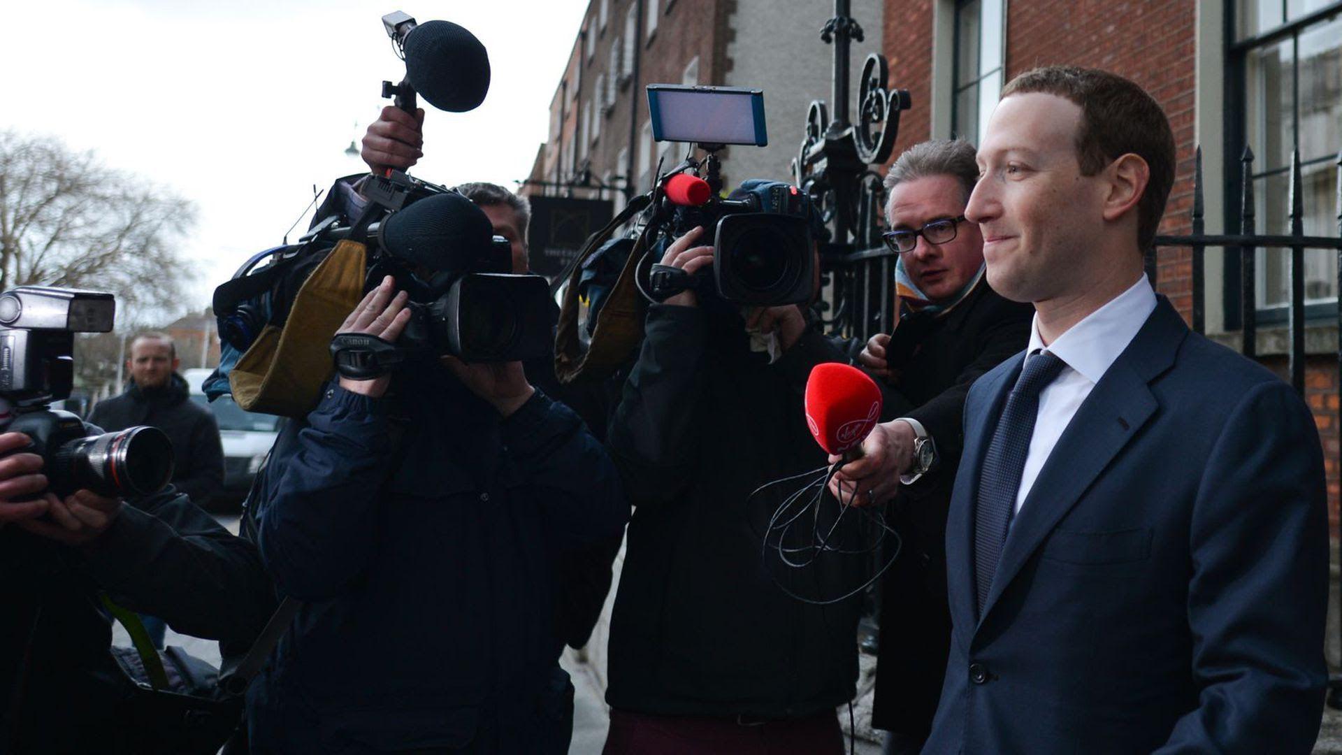 Facebook CEO Mark Zuckerberg. Photo: Artur Widak/NurPhoto via Getty Images