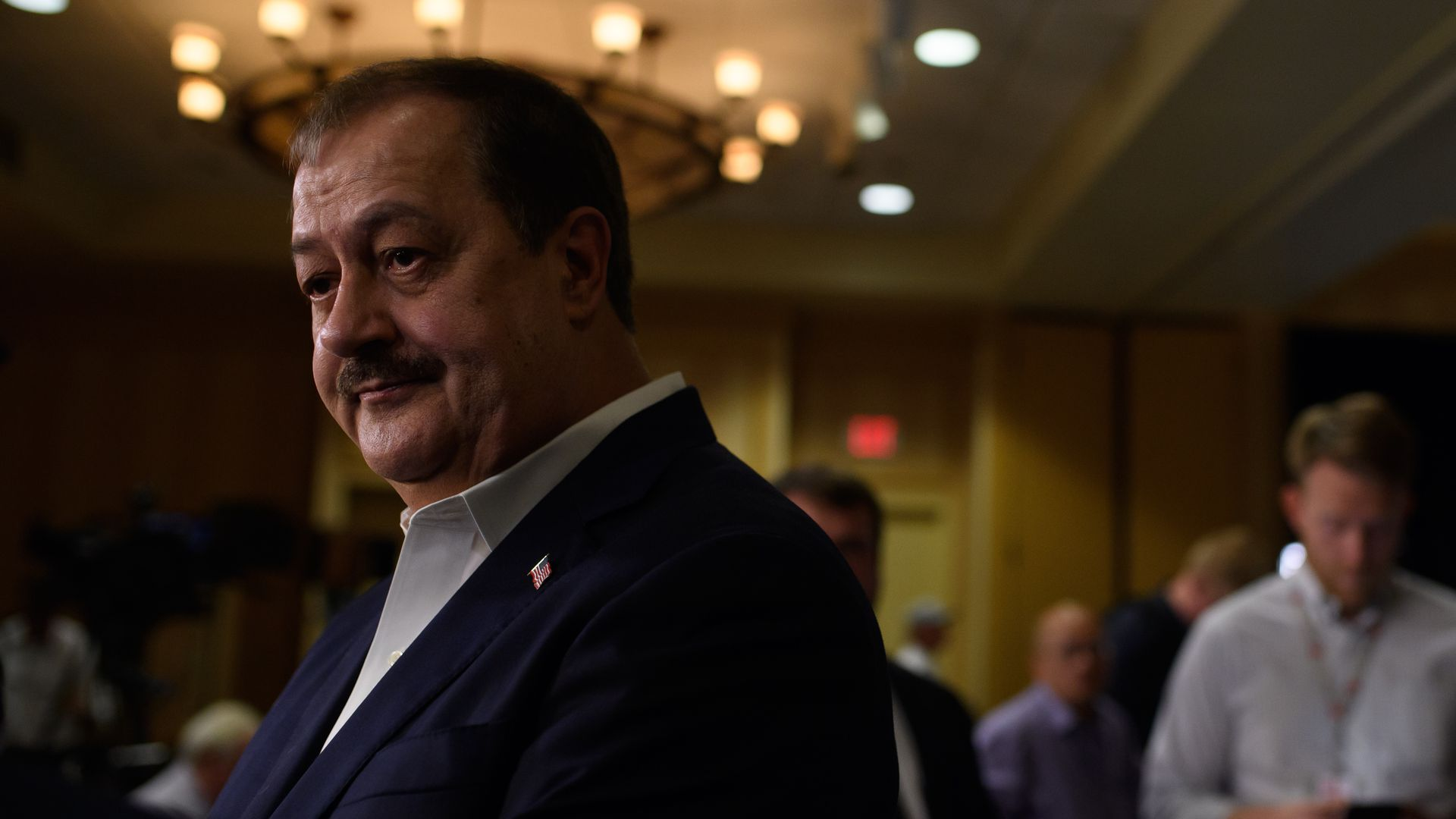 Don Blankenship Photo: Jeff Swensen/Getty Images