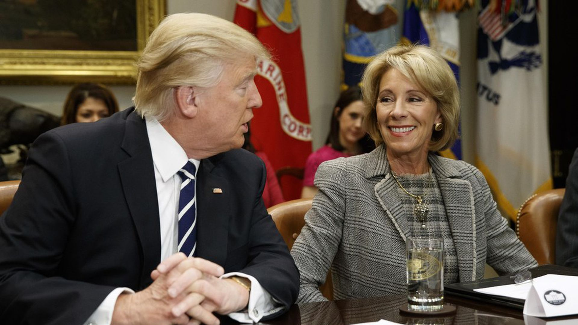 Betsy Devos Is Just Plain Wrong >> Betsy Devos Security Detail Could Cost Millions Axios