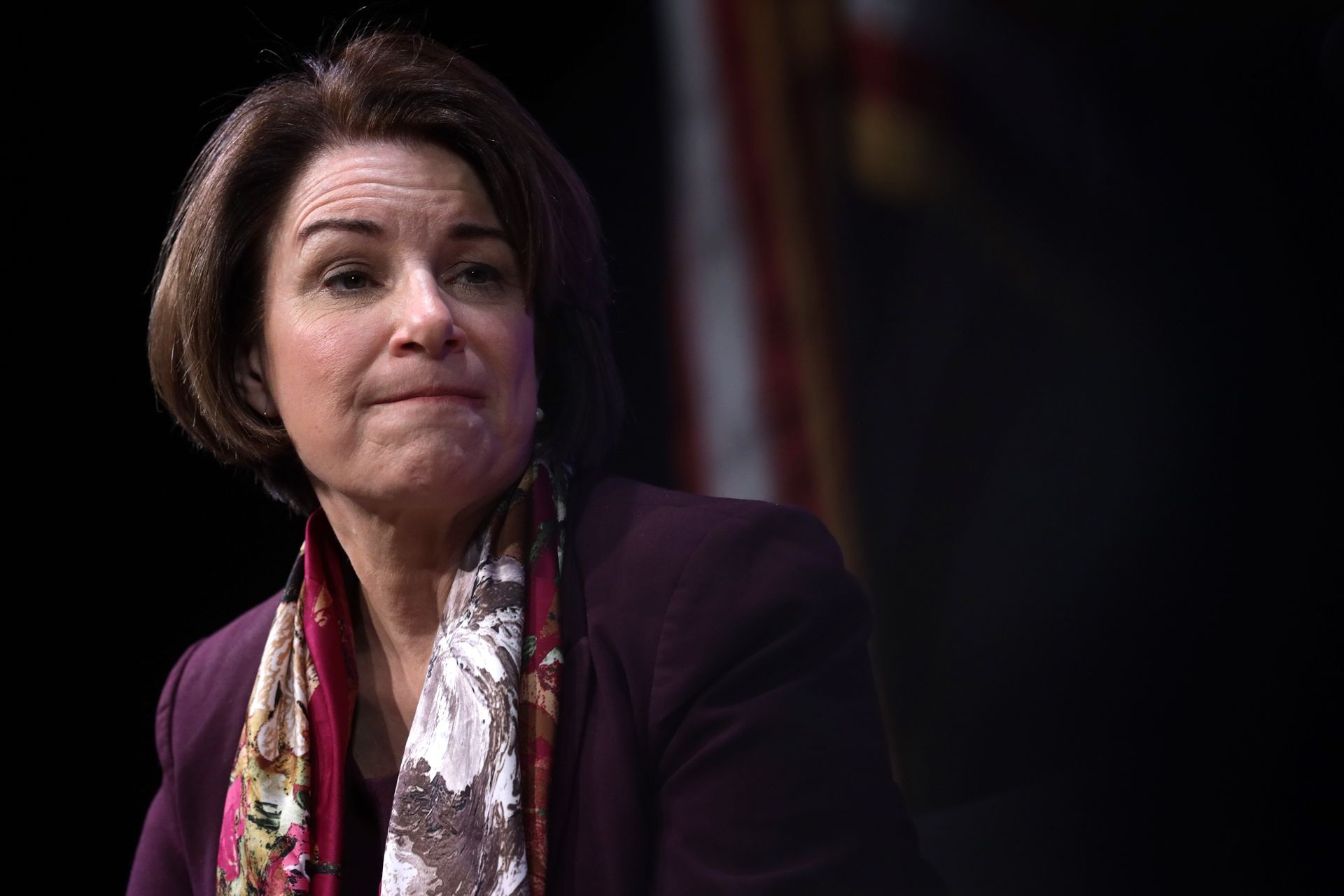 """AP: Klobuchar takes """"strong position against"""" English as national language of the U.S."""