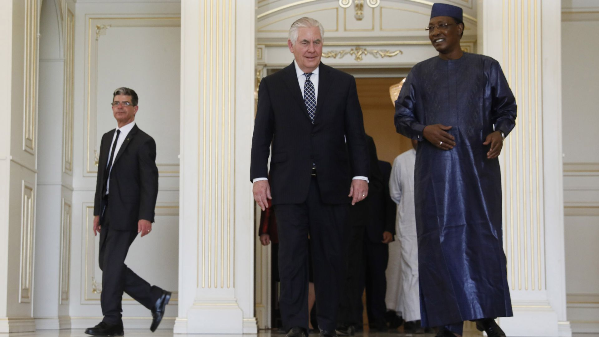 Rex Tillerson and president of Chad
