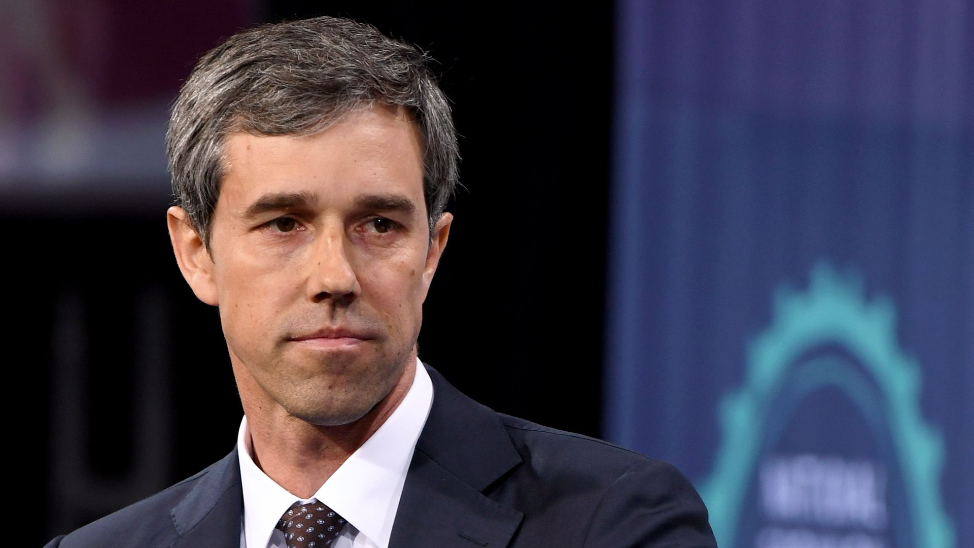 Democratic presidential candidate Beto O'Rourke at the National Forum on Wages and Working People: Creating an Economy That Works for All at Enclave on April 27, 2019 in Las Vegas, Nevada