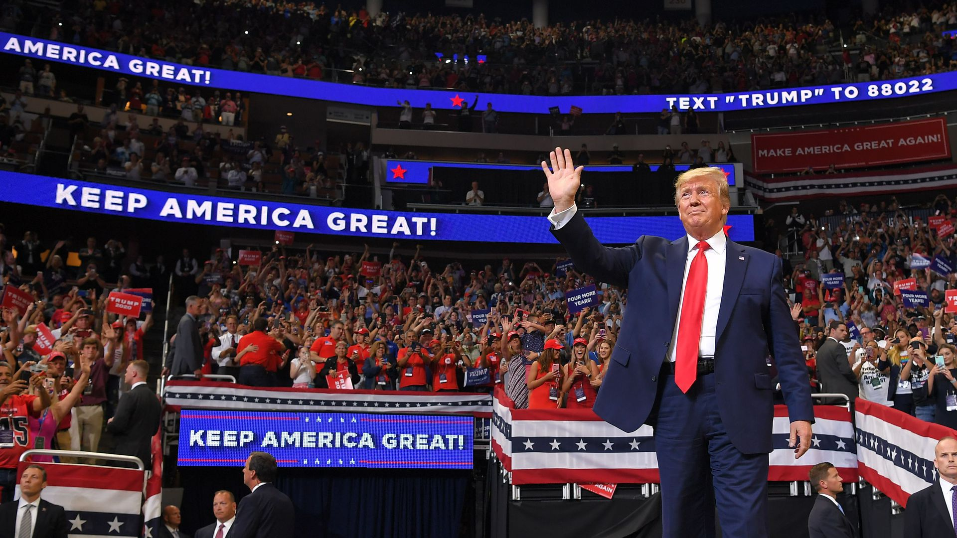 In photos: Trump launches his 2020 reelection campaign in Florida