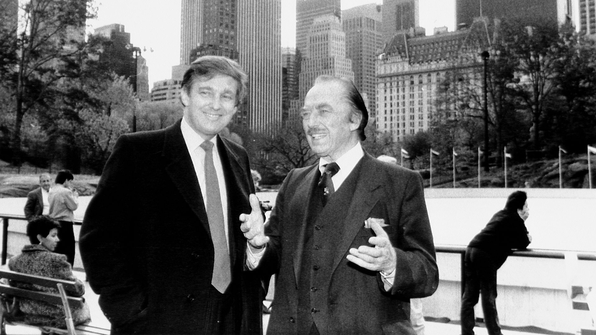 Donald Trump and father Fred Trump. Photo: Dennis Caruso/NY Daily News Archive via Getty Images